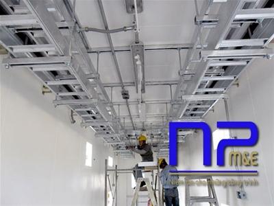 Hệ thống thang cáp trong xây dựng công trình